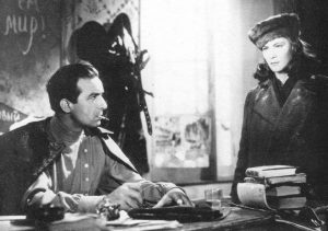 Fosco Giachetti and Alida Valli in Noi Vivi (We the Living)