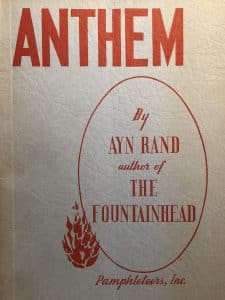 Cover of Anthem by Ayn Rand