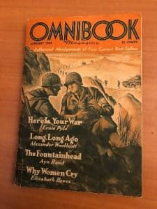 Cover of Omnibook January 1944